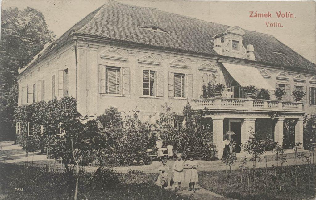 old card Chateau Otin 1913